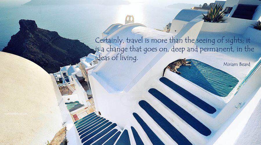 Beautiful-Santorini-Greece-travelquotes-luxury hotel collection santorini-Miriam Beard